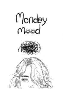 Monday mood ilustración